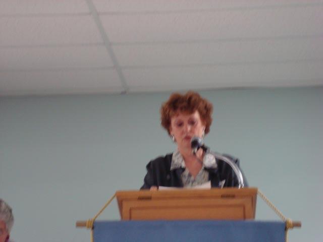 Magnificat talk, Medway, MA