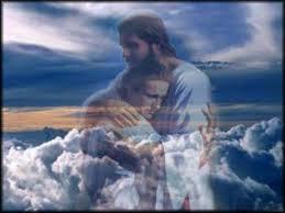 God holding a man