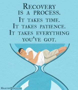 poster-patience with recovery